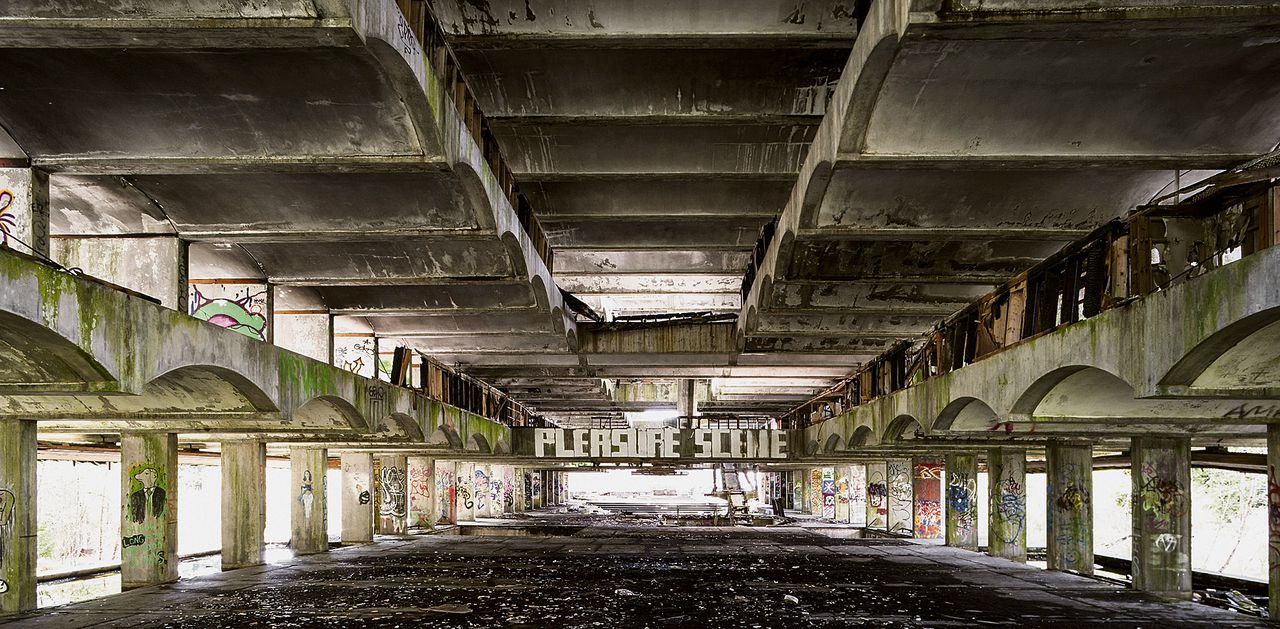 St. Peter's Seminary, Cardross, Schotland. Foto Keith Hunter / Arcaid / HH