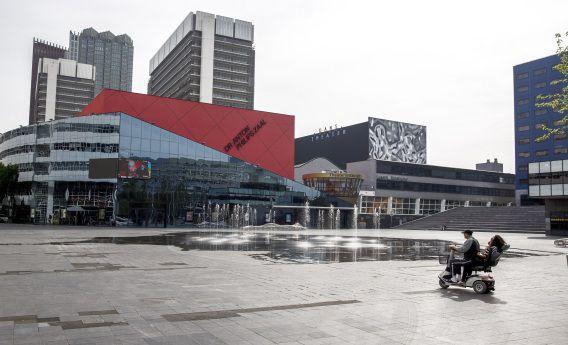 De locatie die is geselecteerd voor het nieuwe onderkomen van het Residentie Orkest, het Nederlands Danstheater en het Koninklijk Conservatorium.