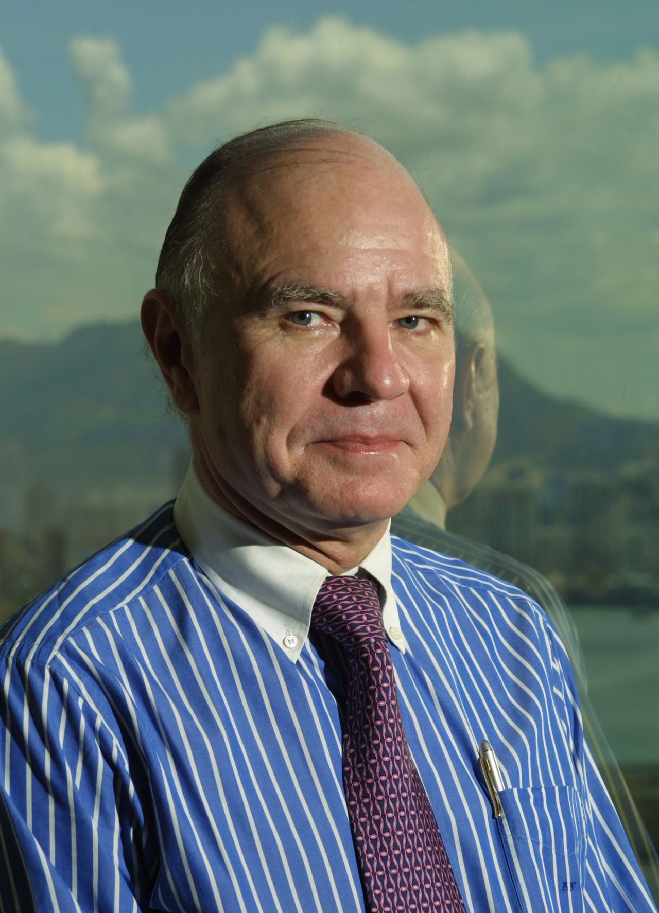 """Marc Faber, Investment Manager and Founder of Marc Faber Ltd., is pictured in Hong Kong Thursday, July 17, 2003. """"From an economic-growth and price perspective, Asia looks the best in the world,'' said Faber, who manages about $100 million and publishes a monthly investment newsletter called The Gloom, Boom & Doom Report. Photographer: Dennis Owen/Bloomberg News"""