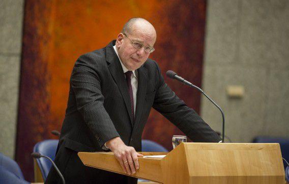 Staatssecretaris Fred Teeven van Veiligheid en Justitie.