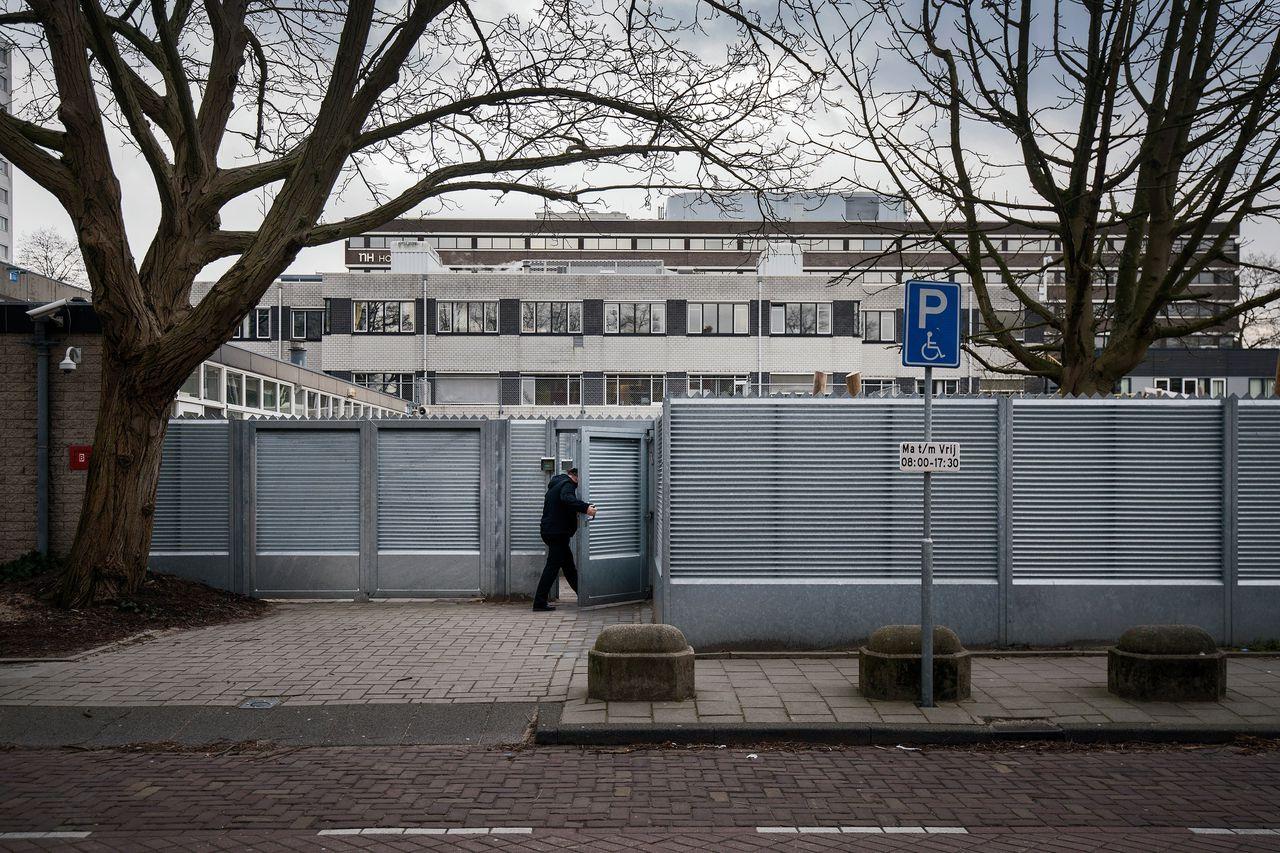 Het gebouw van de Joodse kindergemeenschap Cheider in Amsterdam