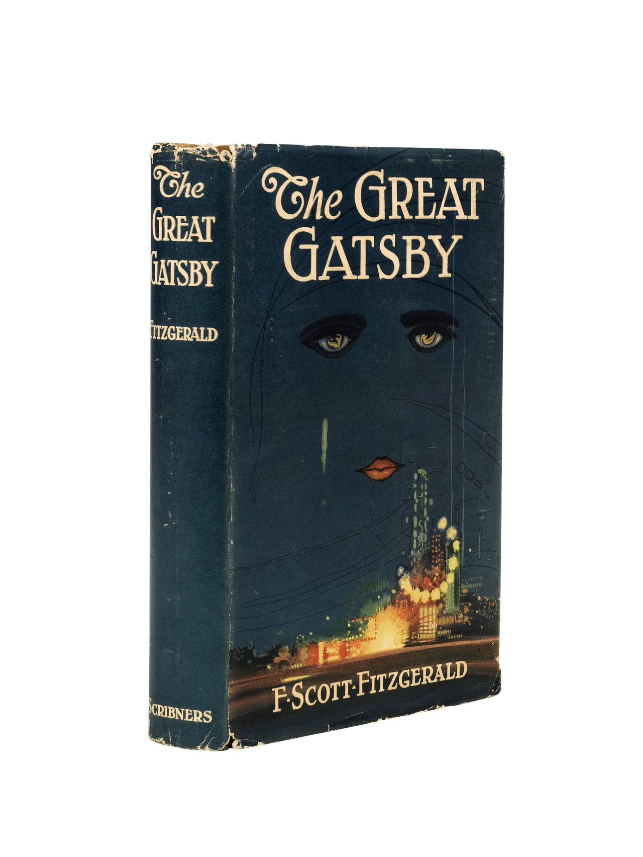 """A copy of """"The Great Gatsby"""" by F. Scott Fitzgerald from 1925, part of the Annette Campbell-White Collection, is estimated to fetch up to 70,000 pounds during a Sotheby's London auction on June 7, 2007. California money manager Annette Campbell-White, who has launched about $500 million of medical funds, is selling her book collection at Sotheby's as part of """"The Modern Movement"""" sale, with some volumes priced at 10 times their cost. Source: Sotheby's via Bloomberg News."""