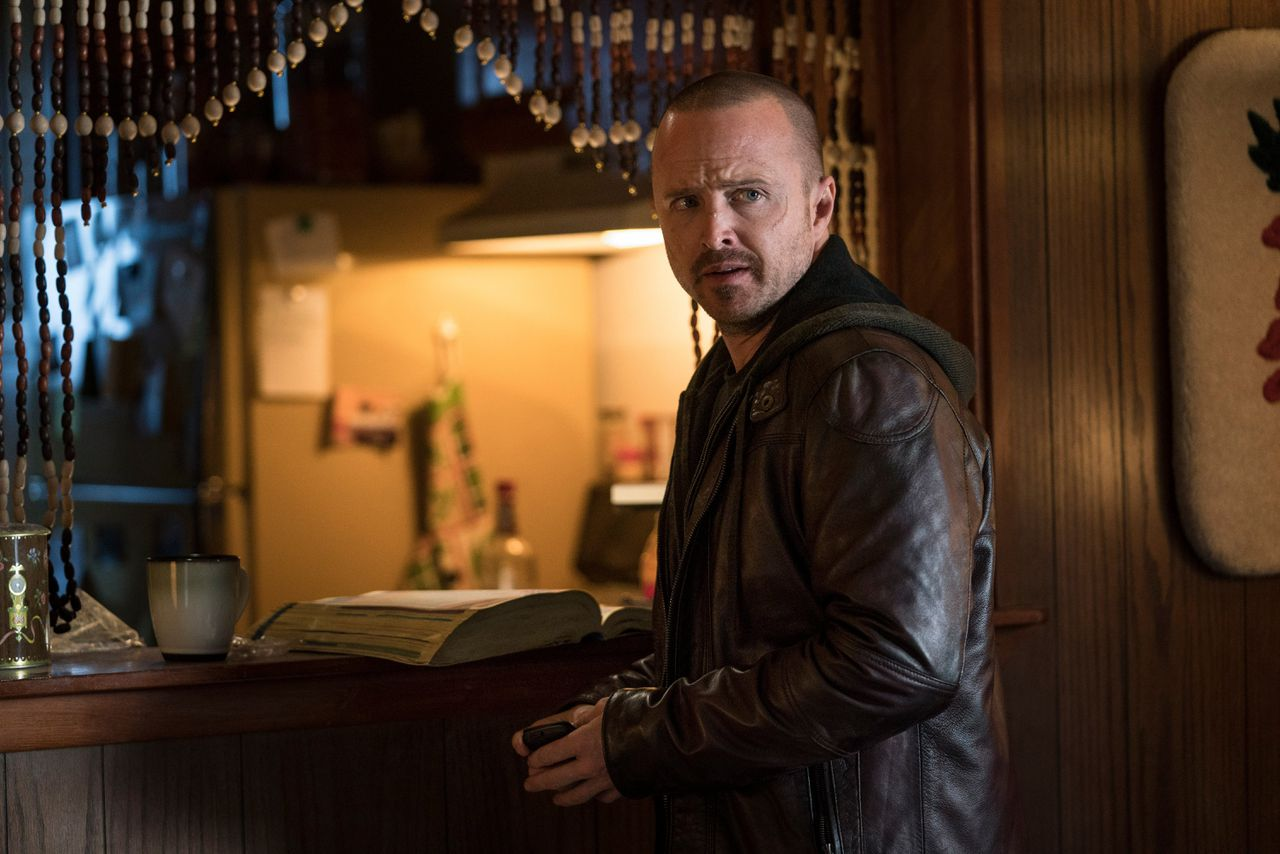 Aaron Paul in El Camino: A Breaking Bad Movie. Ben Rothstein / Netflix
