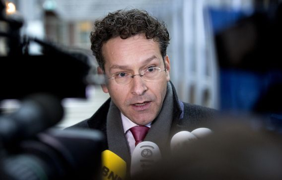 Minister Jeroen Dijsselboem van Financiën.