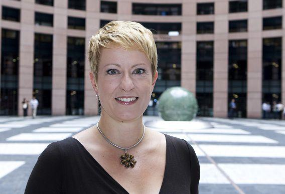 Esther de Lange van het CDA.