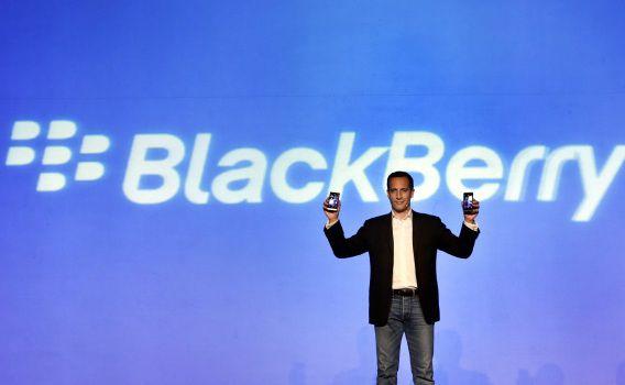 BlackBerry presenteert de BlackBerry Z10.