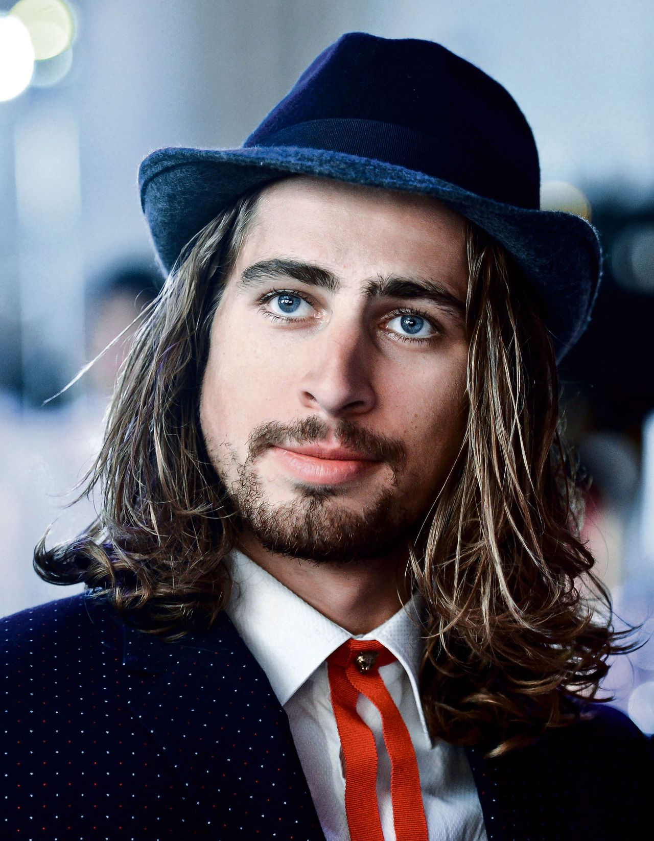 Peter Sagan during the last year's UCI cycling gala in Doha, Qatar.