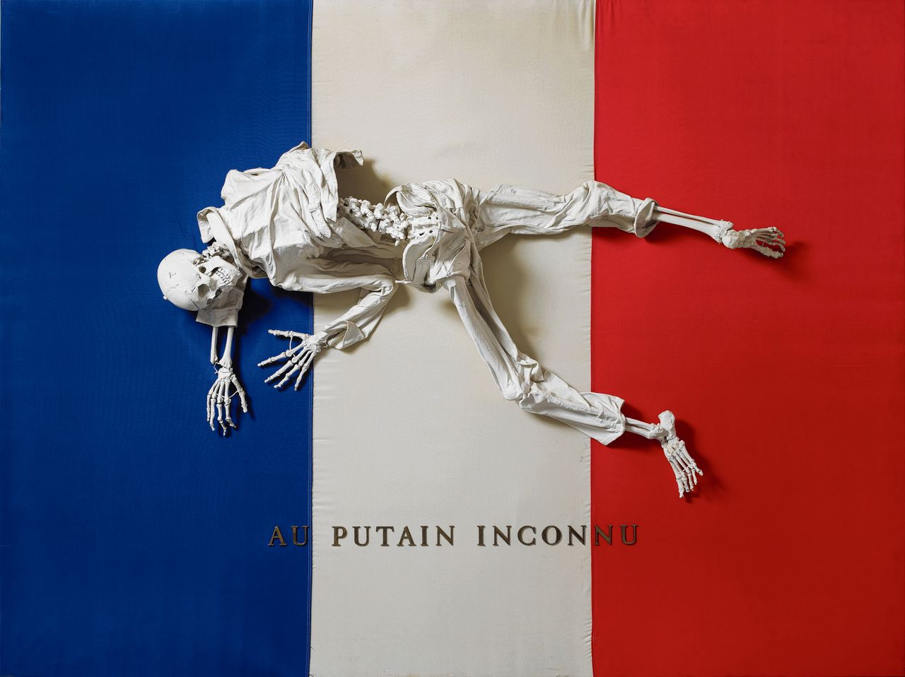 'Au putain inconnu' van Michel Journiac (1943–1995) uit 1973.