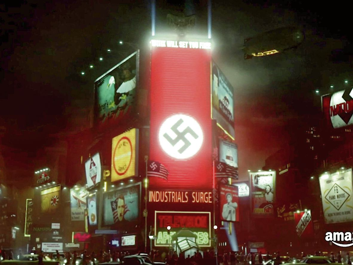 Time Square in de tv-serie The Man in High Castle.