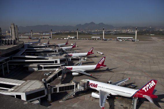 Galeao International Airport in Rio de Janeiro. De luchthaven werd tot nu toe gerund door Infraero Aeroportos.