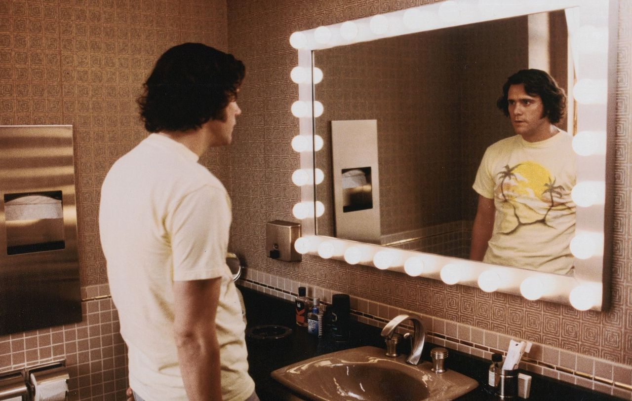 Jim Carrey als Andy Kaufman.