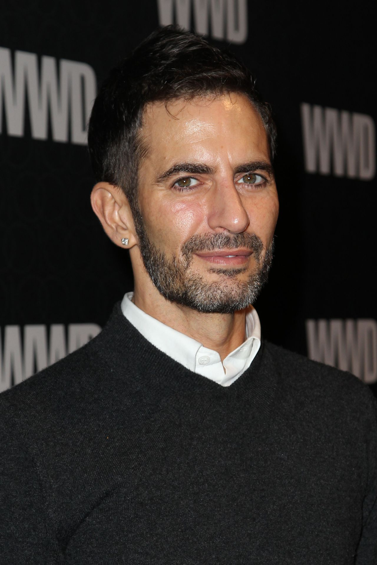 (FILES) - A file picture shows US designer Marc Jacobs during the WWD @ 100 Anniversary Party at Cipriani 42nd Street in New York City, November 2, 2010. Jacobs, actually artistic director of LVMH luxury group could replace British designer John Galliano according to US fashion magazine Women's wear daily (WWD) on August 22, 2011. AFP PHOTO / Elizabeth Pantaleo