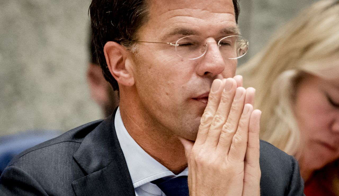 Premier Mark Rutte in vak K.