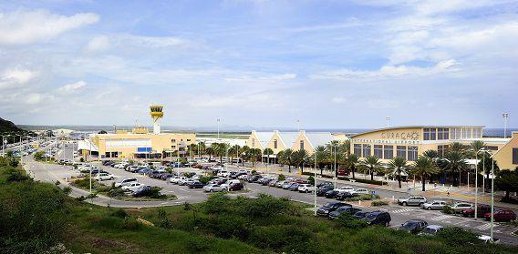 Het vliegveld van Curaçao, Hato Airport.