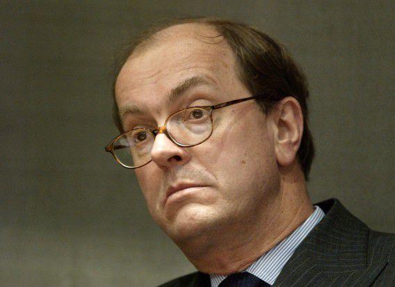 Den Haag 12 maart 2003: Joris Demmink, secretaris- generaal van het ministerie van Justitie.