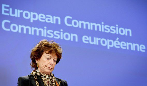 Eurocommissaris Neelie Kroes (Digitale Agenda).