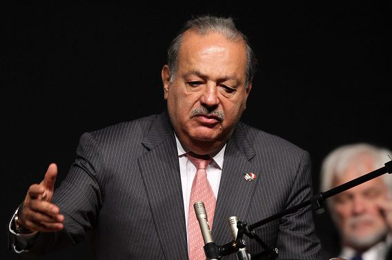 Multimiljardair Carlos Slim van América Móvil.