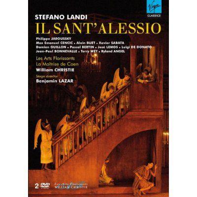 Dvd opera Il Sant'Alessio Regie: Benjamin Lazar € 25,00 * * * *