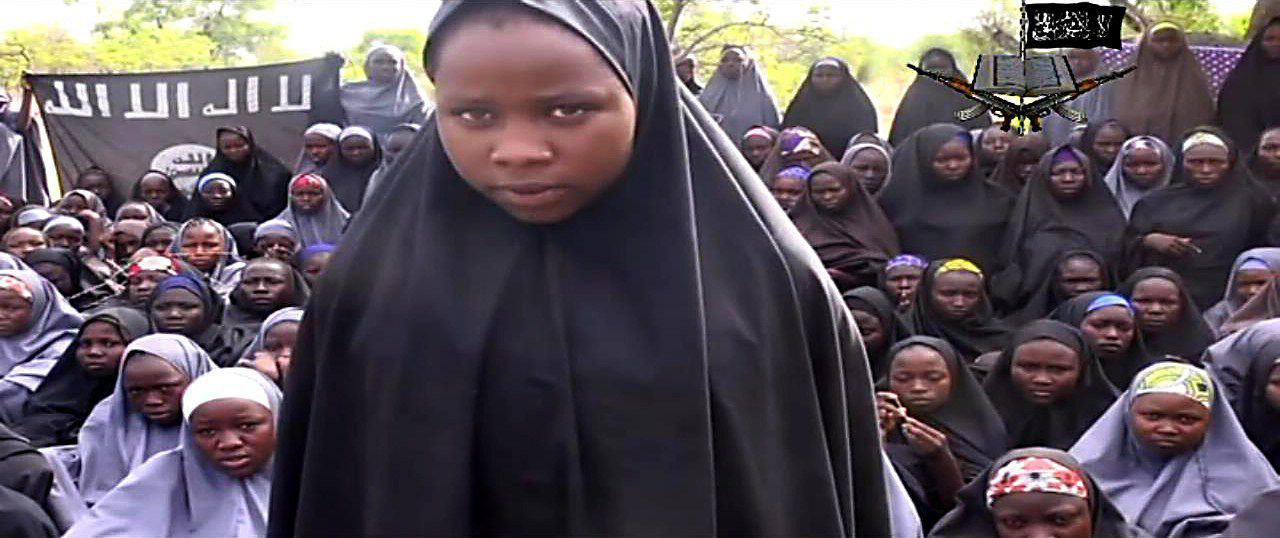 Still uit Boko Haram video