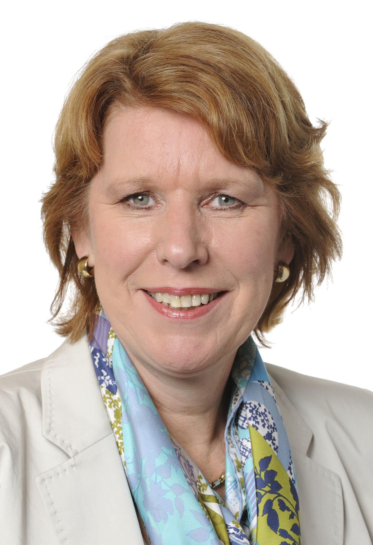 Corien Wortmann-Kool lid Europees Parlement CDA / Europese Volkspartij 2009 FOTO: Europees Parlement