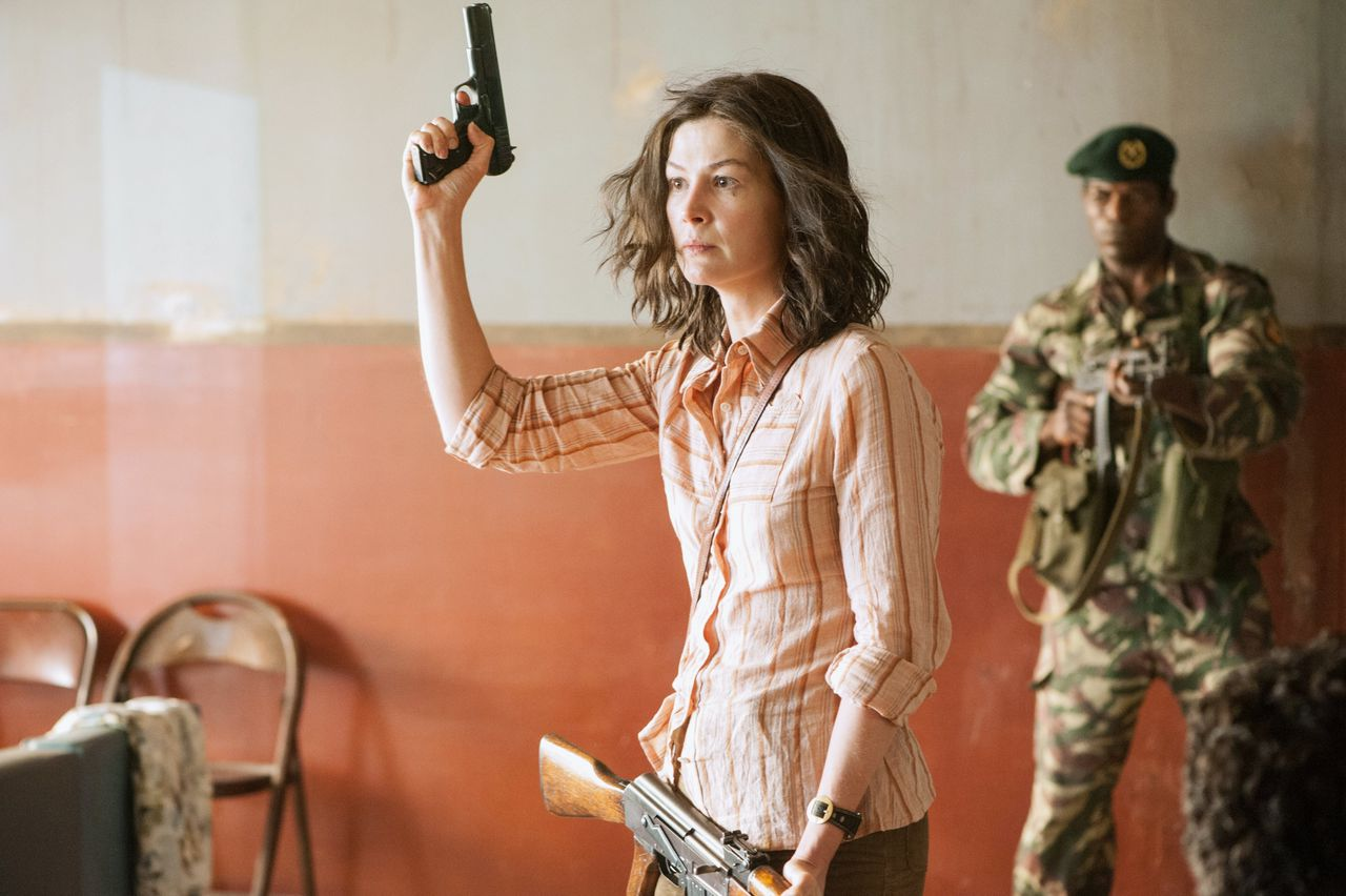 Rosamund Pike in 7 Days in Entebbe.