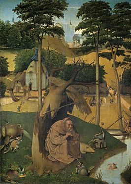 Wel of niet 'echt'? Verzoeking van de Heilige Antonius van Jeroen Bosch.