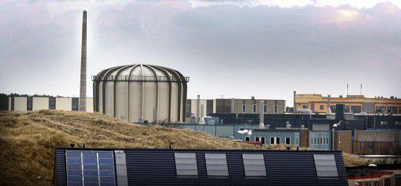 De kernreactor in Petten.
