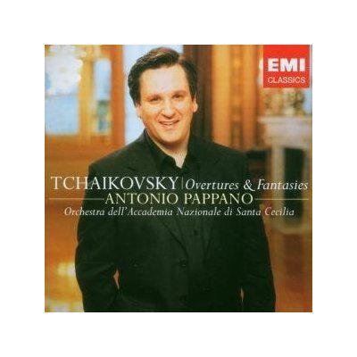 Tsjaikovski: Symfonieën 4, 5, 6 o.l.v. Antonio Pappano (EMI 3 53258) 4 ballen ****-