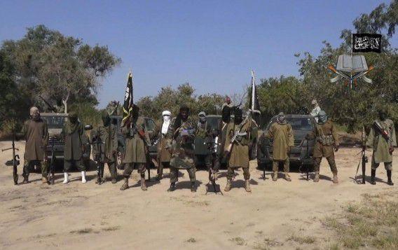 Strijders van Boko Haram op archiefbeeld.