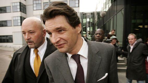Edwin de Roy van Zuydewijn, hier op een archieffoto, heeft een taakstraf van 100 uur opgelegd gekregen door de rechtbank in Amsterdam voor het opmaken van een valse factuur. De Roy van Zuydewijn is één van de kleinere verdachten in de vastgoedfraudezaak.
