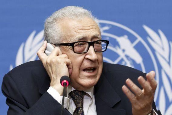 VN-bemiddelaar Brahimi.