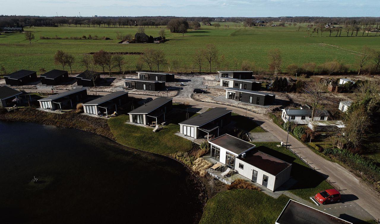 Vakantiehuisjes in Landalpark De Vlinderhoeve, bij Lochem