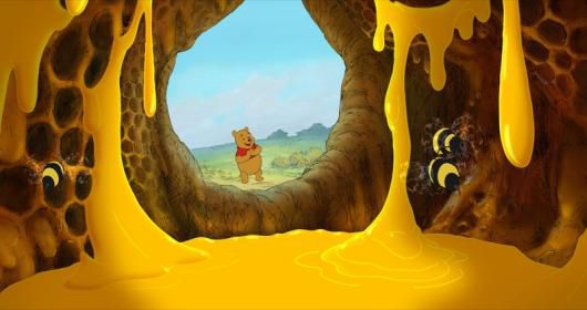 """""""WINNIE THE POOH"""" Winnie The Pooh ©Disney Enterprises, Inc. All rights reserved."""