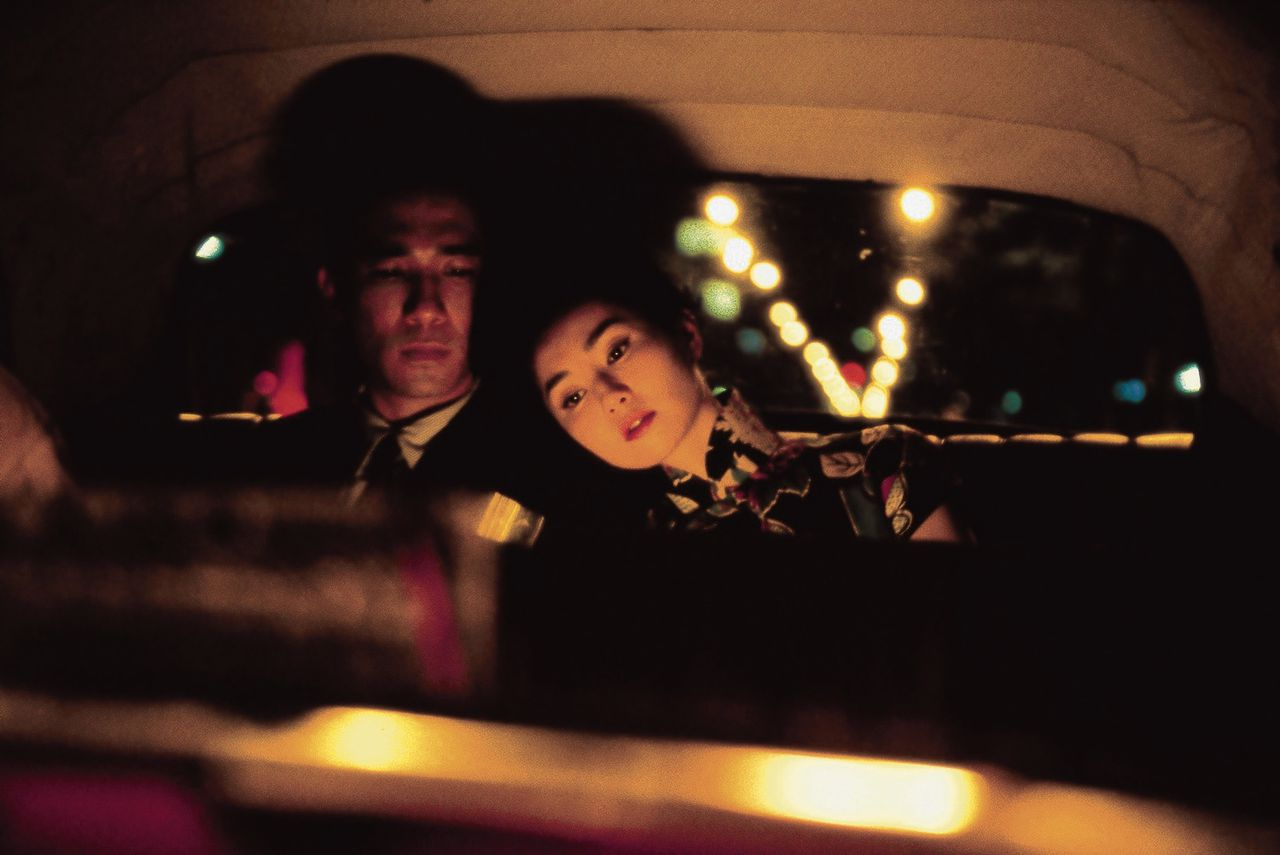 Tony Leung en Maggie Leung in 'In the Mood for Love'.