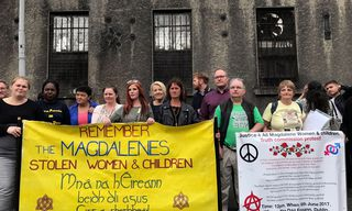 Protest in Ireland against abuse by the Congregation of Our Lady of Charity of the Good Shepherd