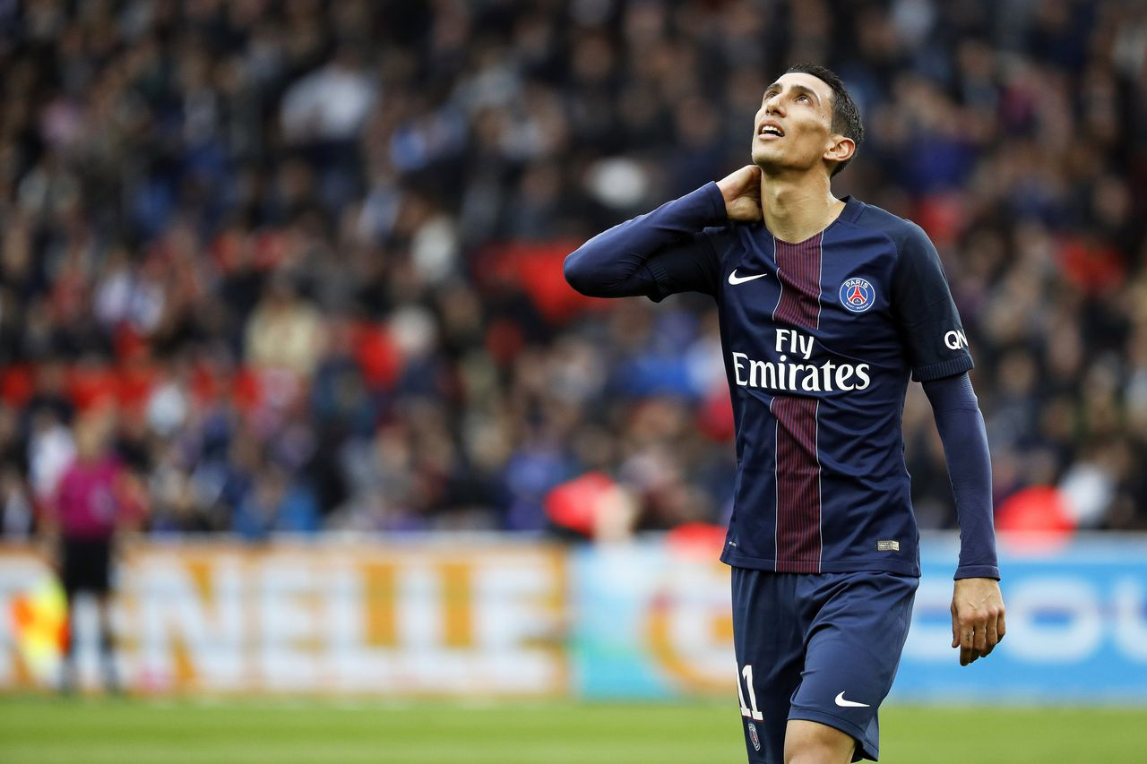 Angel di Maria van Paris St. Germain.