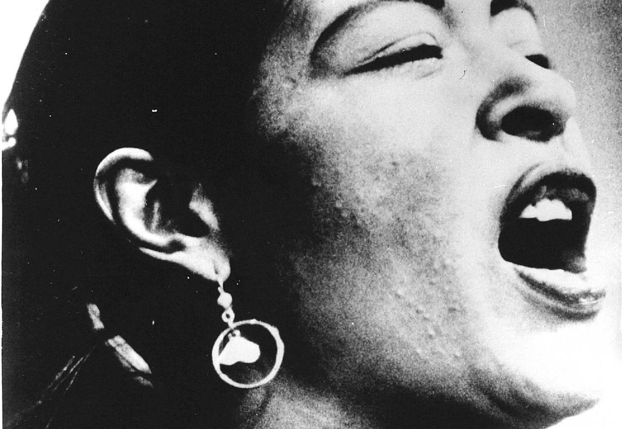 Billy Holiday in 1956.
