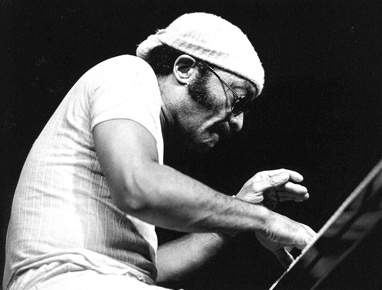 Cecil Taylor op het North Sea Jazz Festival in 1976 in Den Haag.