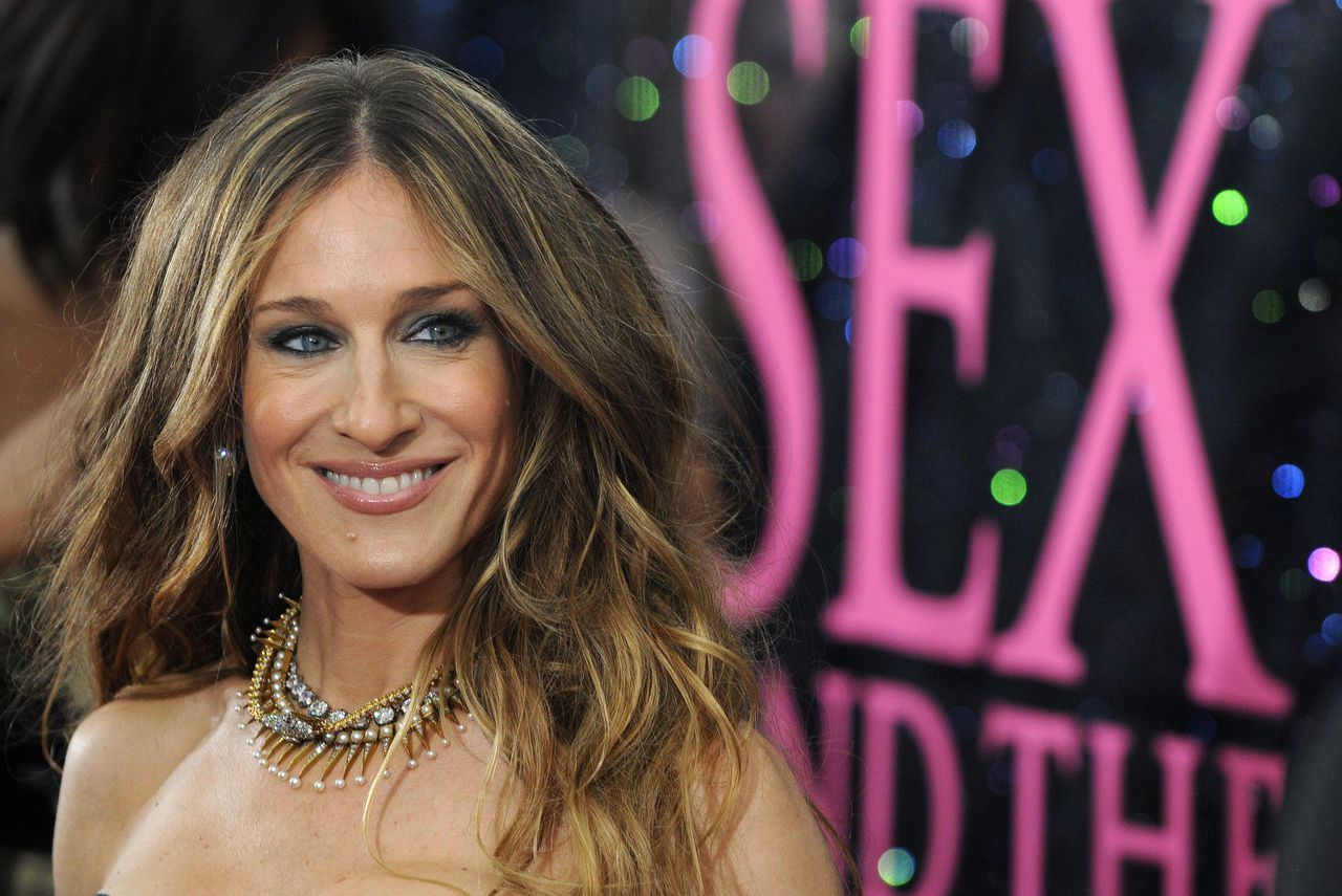 """Ben jij Sarah Jessica Parker? Actress Sarah Jessica Parker attends the premiere of """"Sex and the City"""" at Radio City Music Hall on Tuesday, May 27, 2008, in New York. (AP Photo/Peter Kramer)"""