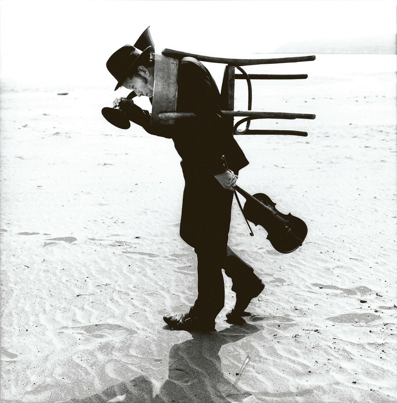 Tom Waits, California, Dillon Beach, 2002