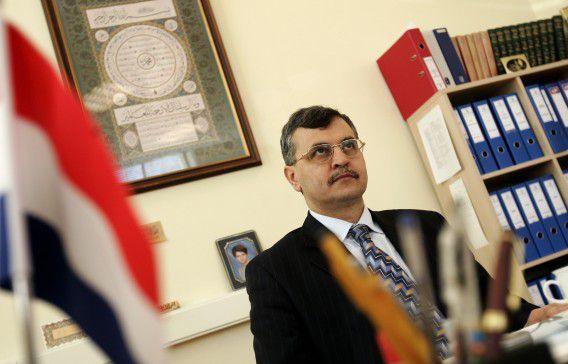 Rector Ahmet Akgündüz van de Islamitische Universiteit Rotterdam (IUR).