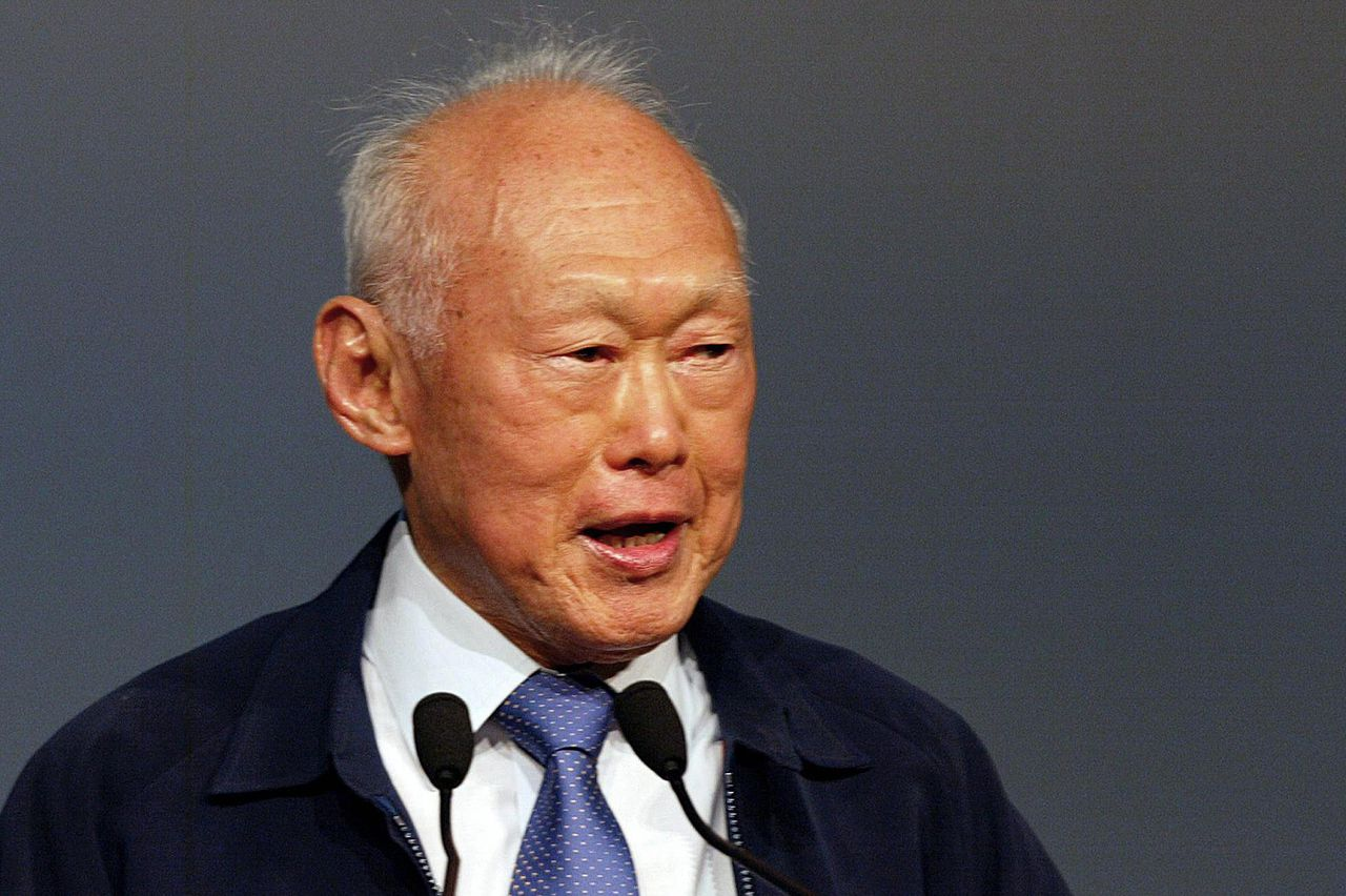 Lee Kuan Yew in 2004.