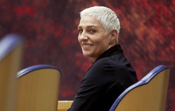 Staatssecretaris Wilma Mansveld van Infrastructuur.