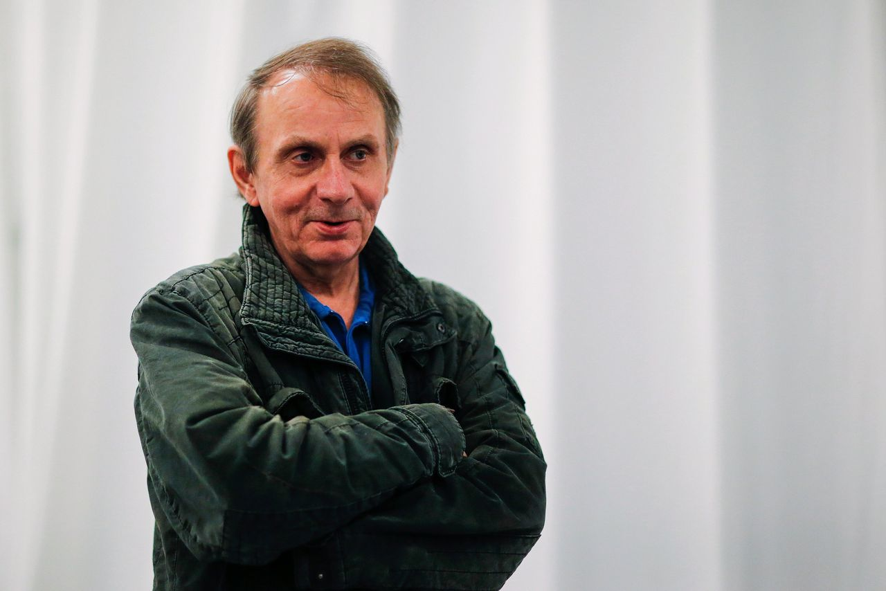 Michel Houellebecq in 2017 in New York.