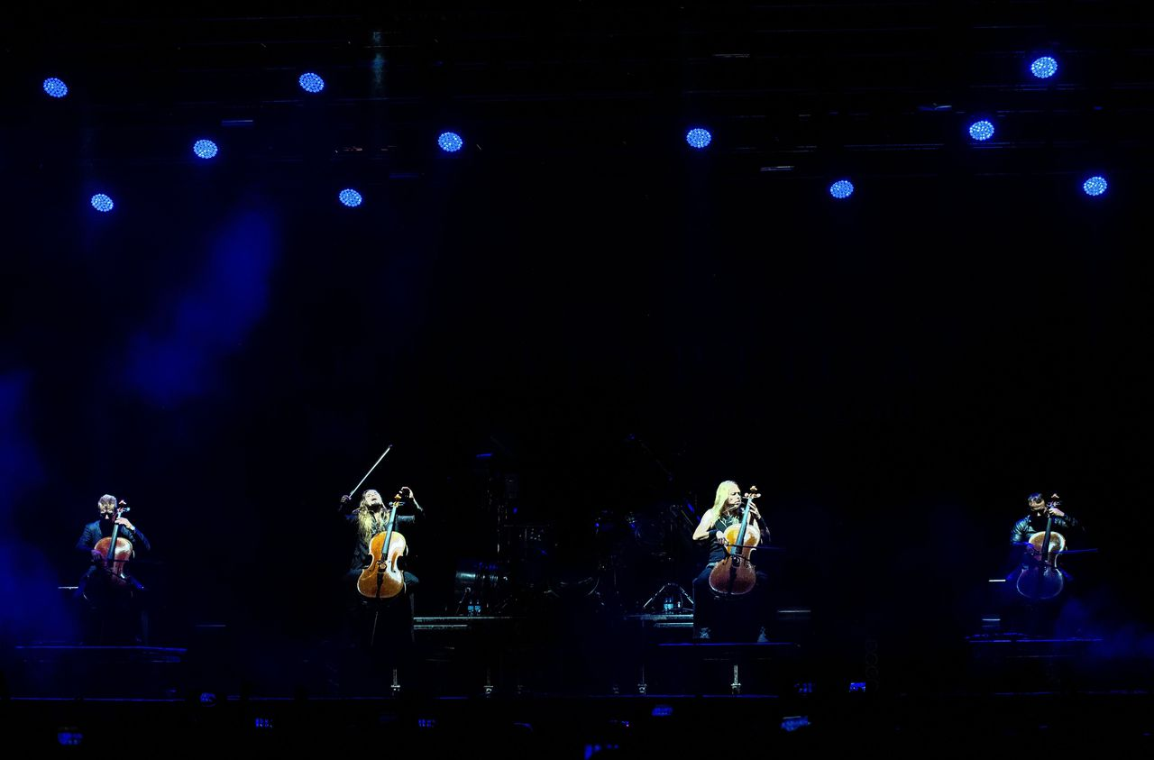 Apocalyptica in Portugal in augustus 2017.