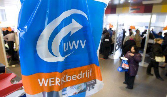 LEIDEN - UWV Werkbedrijf in Leiden tijdens de Landelijke Banendag. ANP XTRA KOEN SUYK