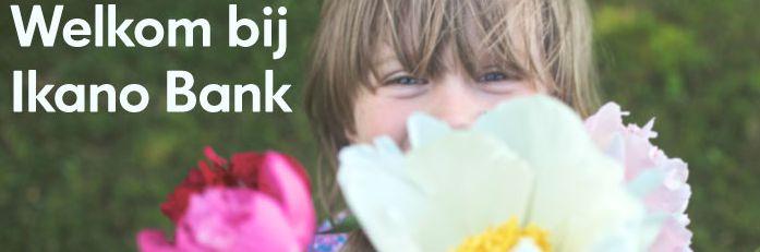 Een banner van de site van Ikano Bank, de Ikea-bank die sinds vandaag in Nederland actief is.