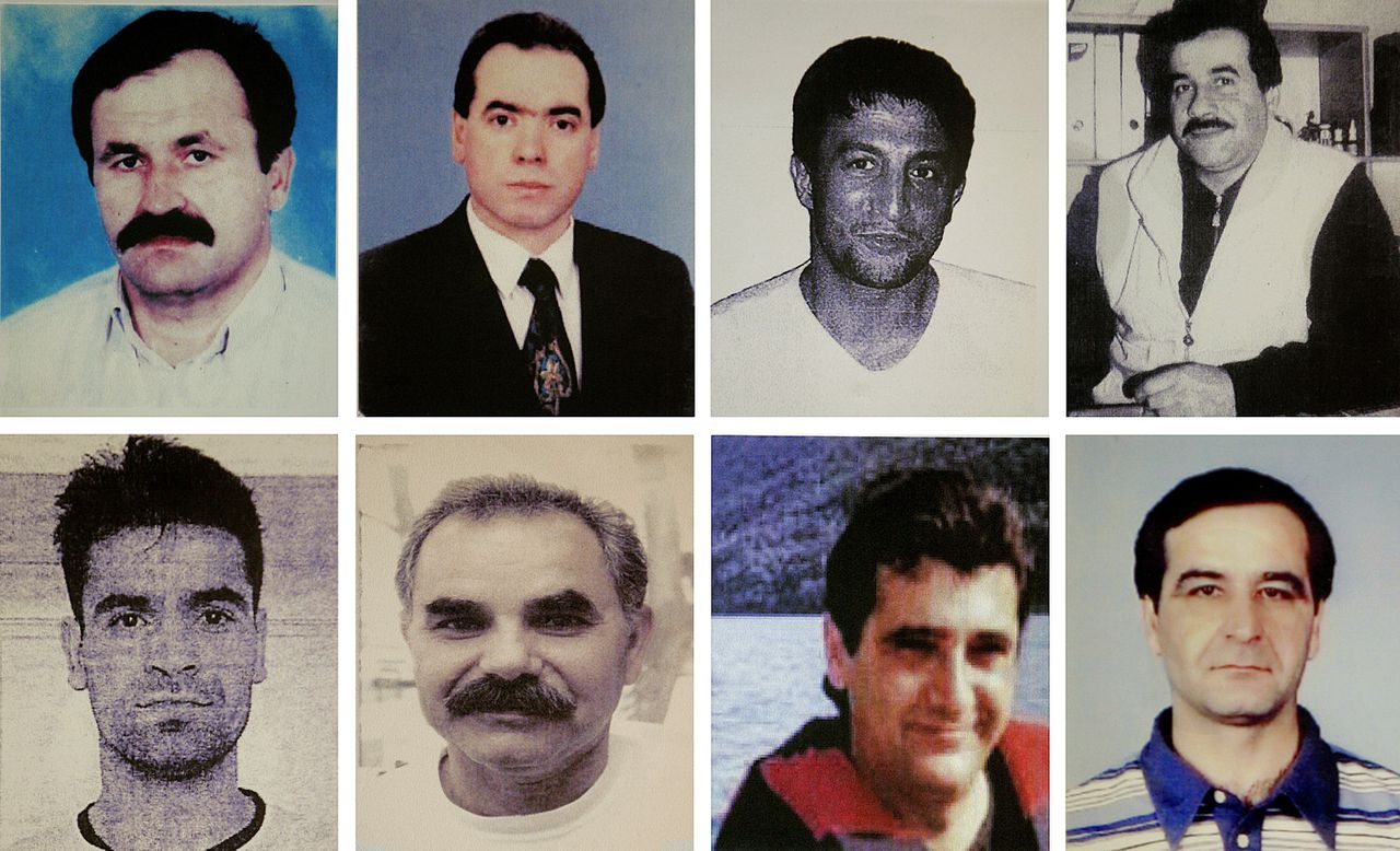 "(FILES) - This combo of pictures provided by German Police shows eight murder victims (top, L-R) Enver Simsek, Abdurrahim Ozudogru, Suleyman Taskopru and Habil Kilic and (bottom, L-R) Yunus Turgut, Ismail Yasar, Theodorus Boulgarides and Mehmet Kubasik, all alleged victims of far-right militant trio NSU, whose sole survivor Beate Zschaepe's trial will will start on May 6, 2013 at the courtroom of the Regional Court of Munich, southern Germany. The socalled NSU is suspected of involvement in 10 murders, including the killing of nine men of Turkish or Greek origin across Germany between 2000 and 2006 and a German policewoman in 2007, as well as 15 armed robberies, arson and attempted murder. The Munich court announced on April 19, 2013 it would relaunch its media accreditation process using a lottery system to guarantee four seats to journalists from Turkey, where most of the victims hailed from, for what has been dubbed the country's trial of the decade. RESTRICTED TO EDITORIAL USE - MANDATORY CREDIT ""AFP PHOTO GERMAN POLICE"" - NO MARKETING NO ADVERTISING CAMPAIGNS - DISTRIBUTED AS A SERVICE TO CLIENTS"