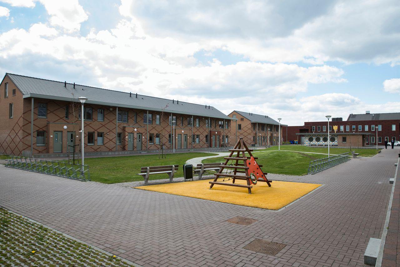 Een asielzoekerscentrum in Ter Apel.