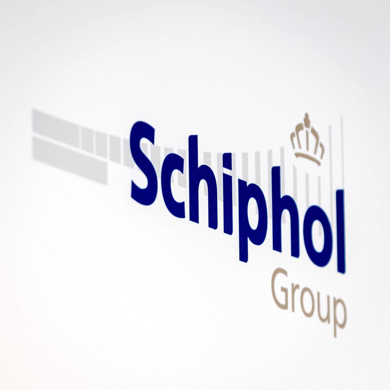 Logo van de Schiphol Group.